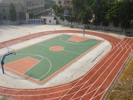 东莞新联小学跑道